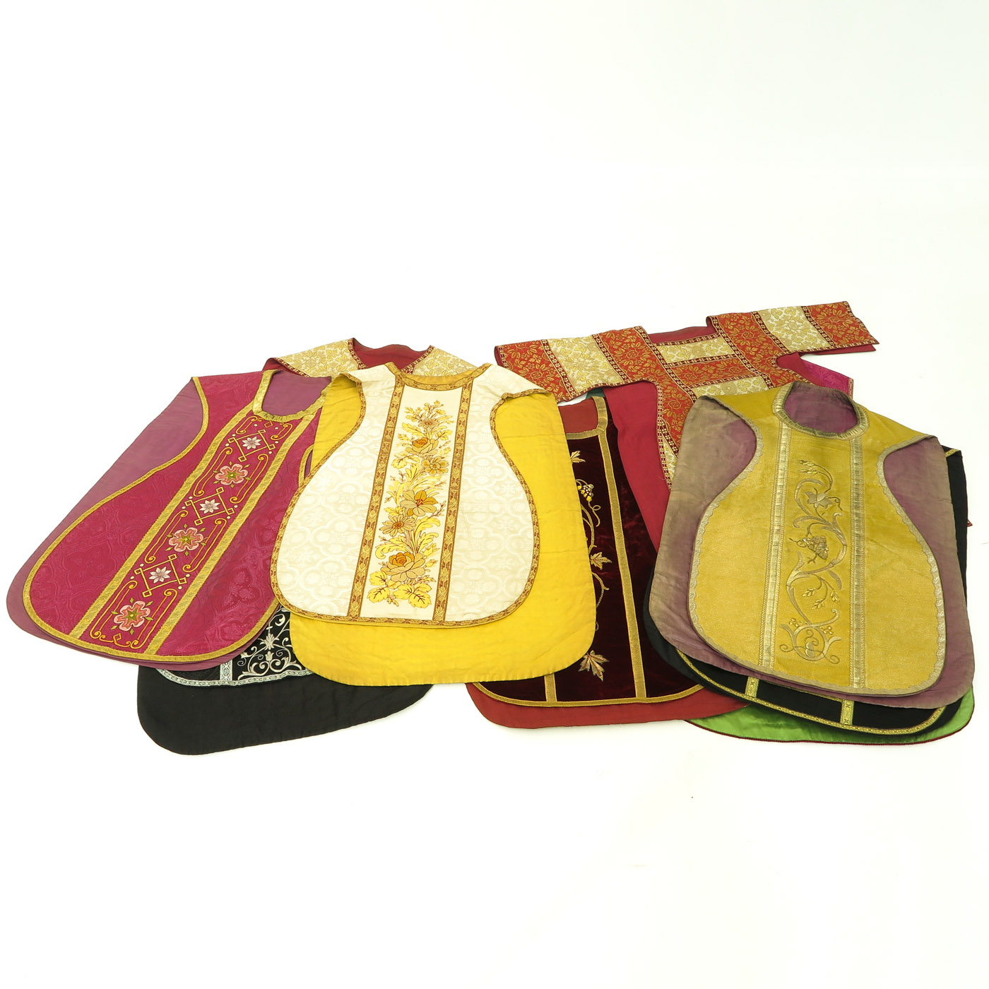 Lot 1445 - A Collection of Religious Vestments