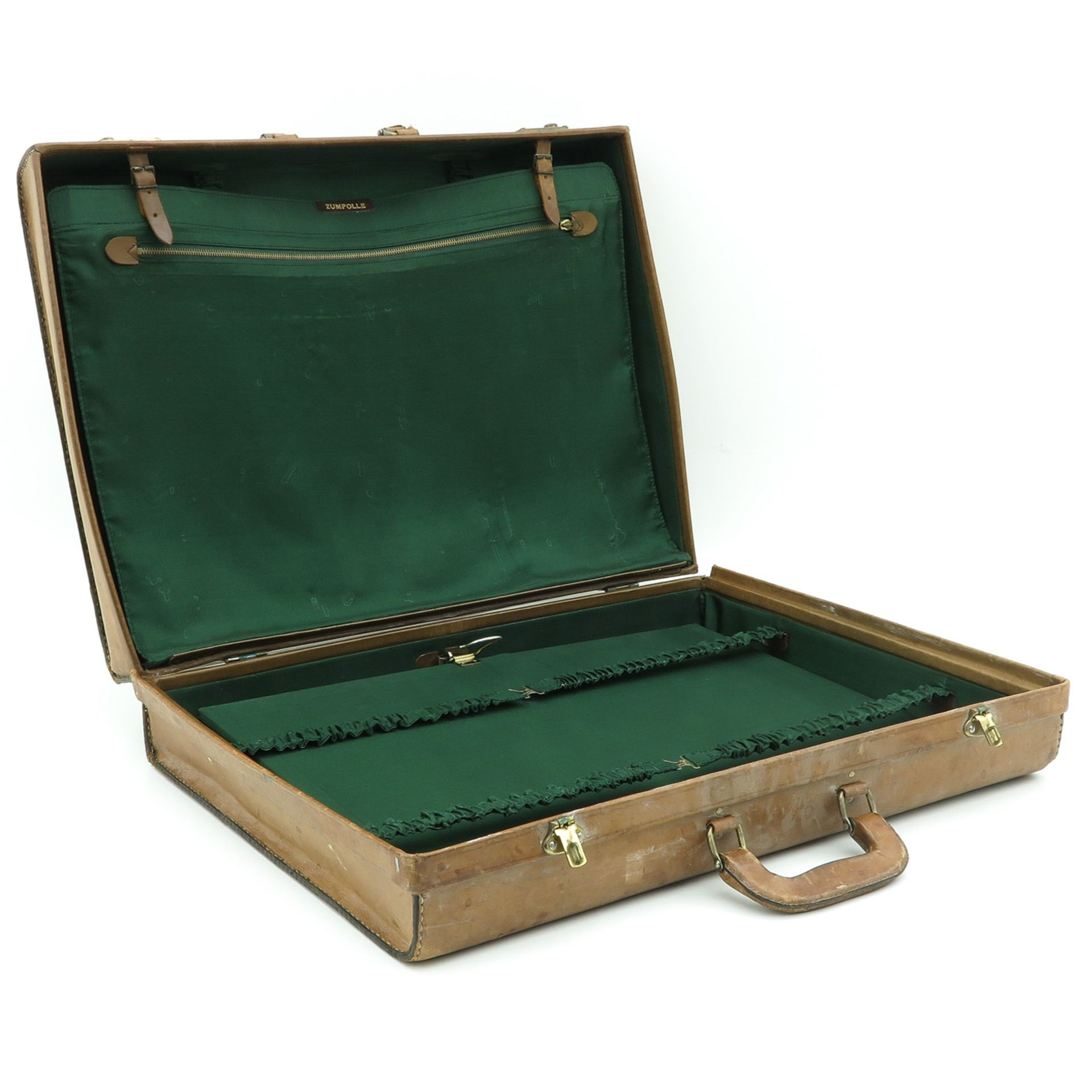Los 1001 - A Vintage Leather Case and Antique Koala Beer