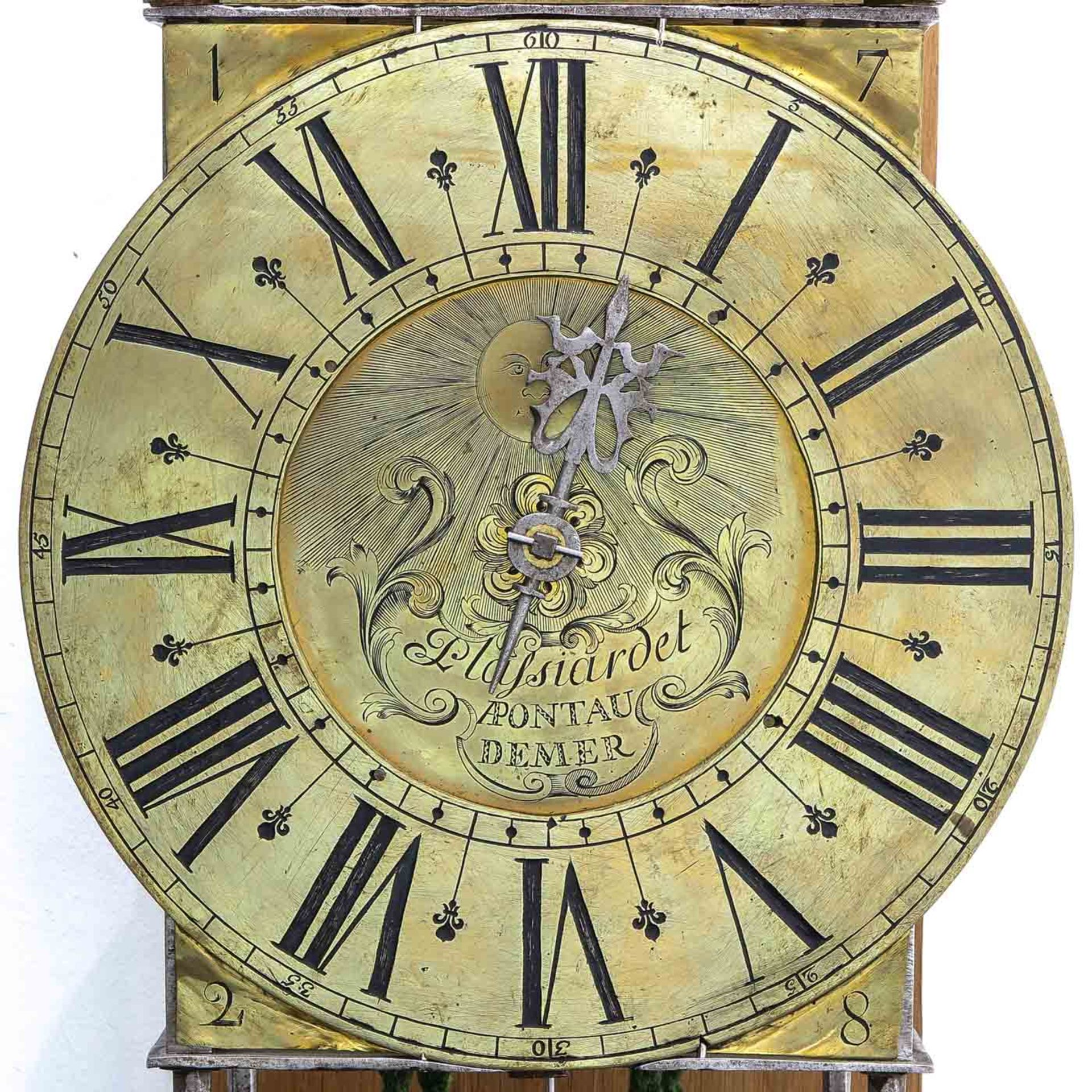 Los 1074 - A Signed French Lantern clock