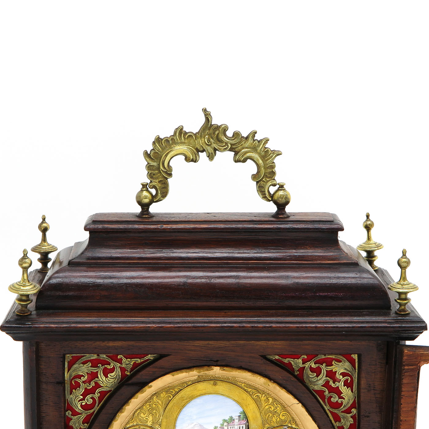 Lot 1130 - A Viennese Table clock