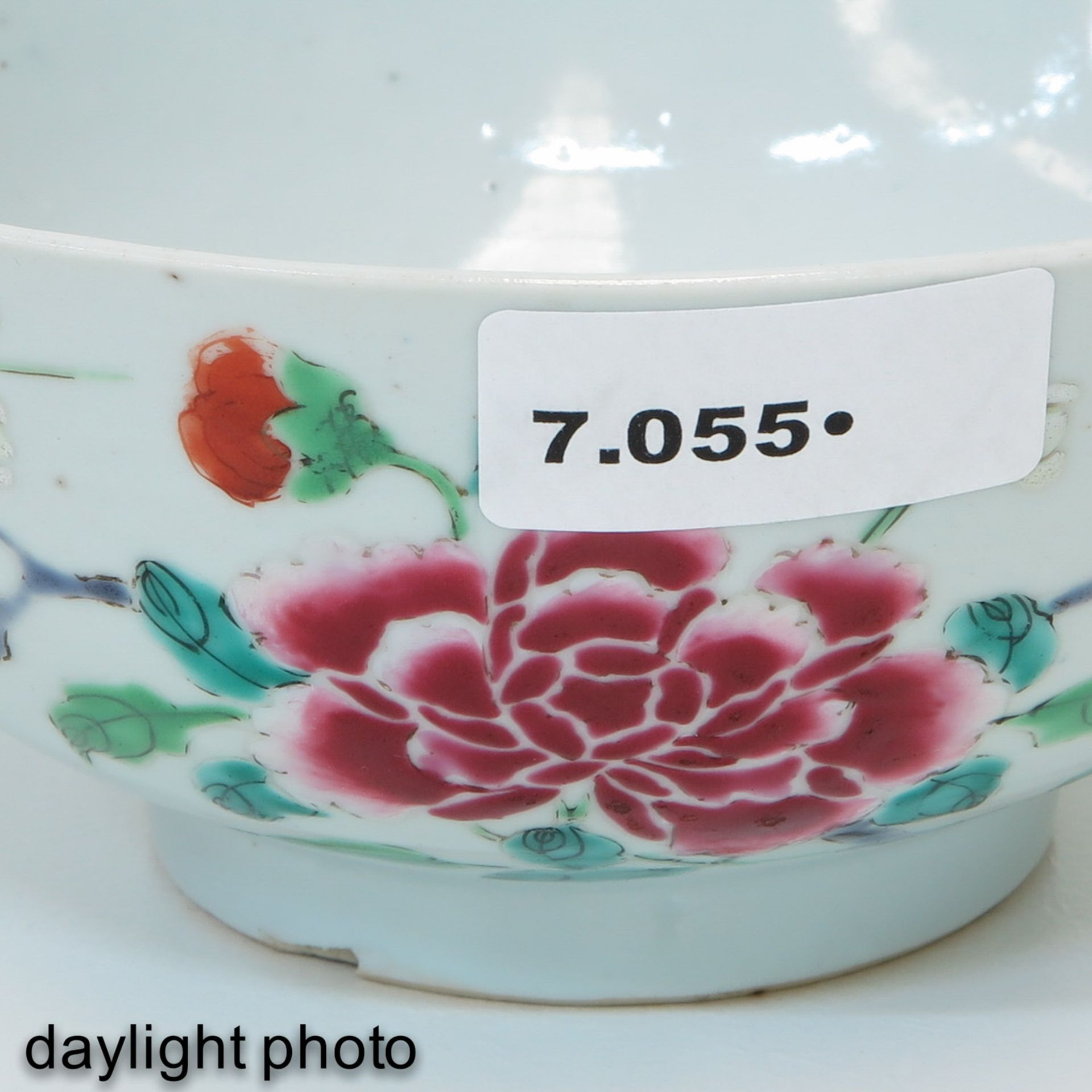 Los 7055 - A Famille Rose Bowl