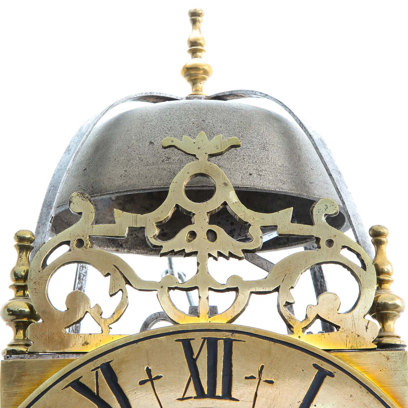 Lot 1045 - A 17th - 18th Century French Lantern clock