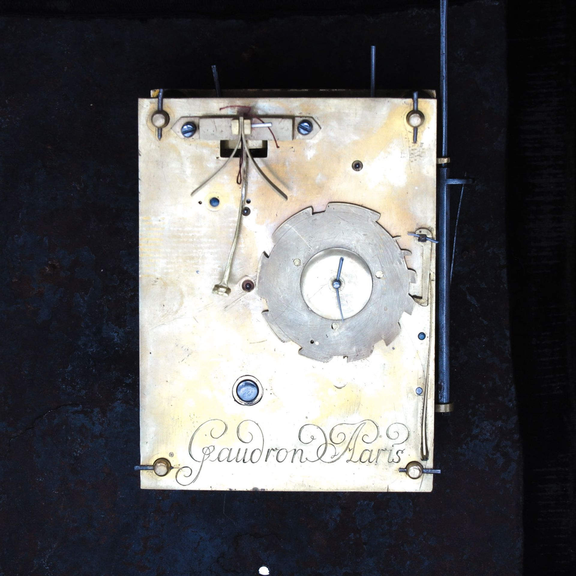 Los 1123 - A Signed 17th Century French Religious Clock
