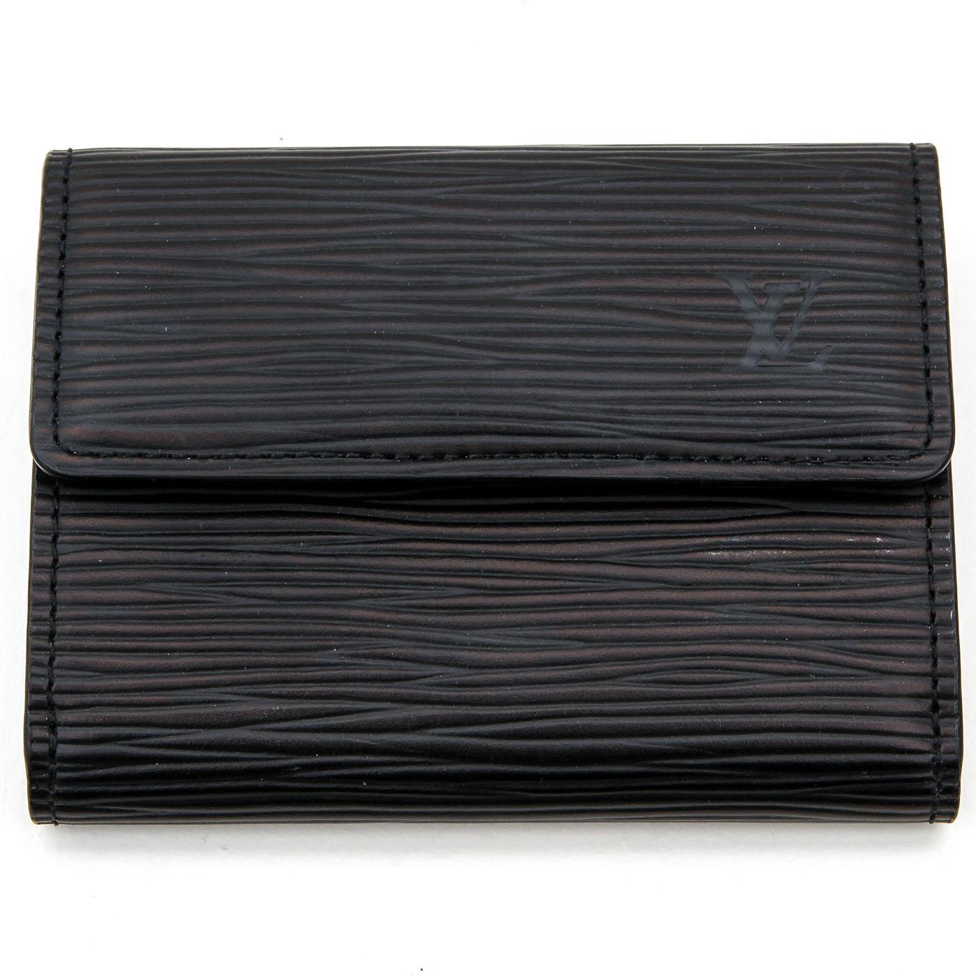 Lot 1271 - A Louis Vuitton Epi Leather Wallet