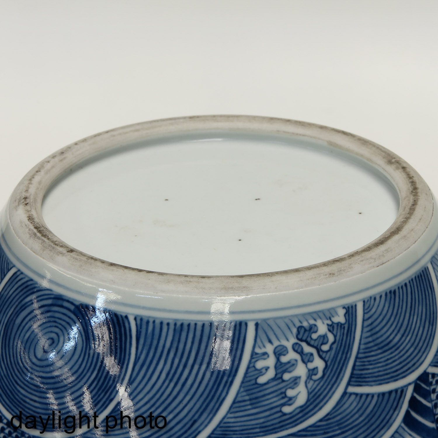 Lot 7024 - A Blue and White Tianqiu Ping Vase