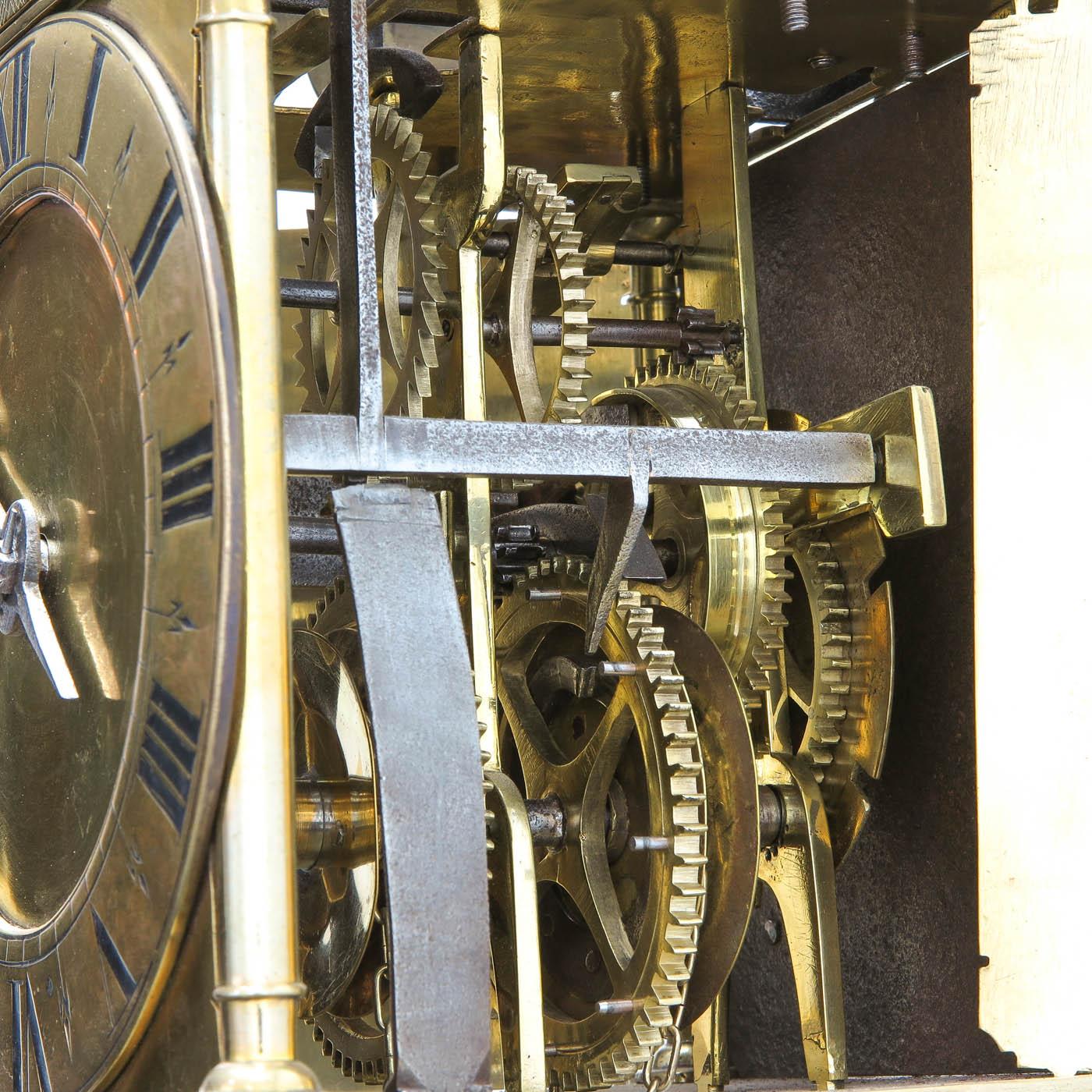 Lot 1060 - A French 17th - 18th Century Lantern Clock