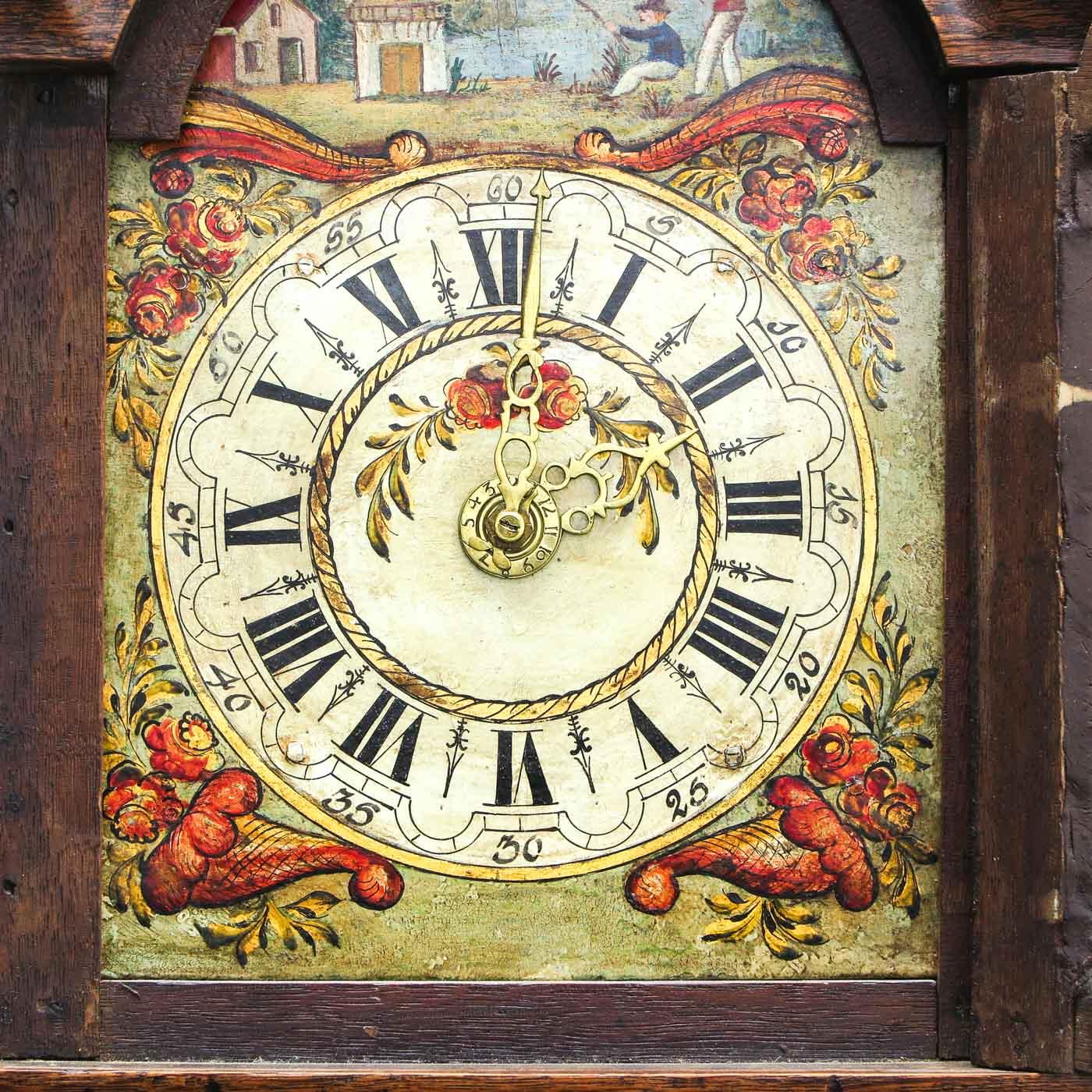 Lot 1035 - A 19th Century Friesland Clock