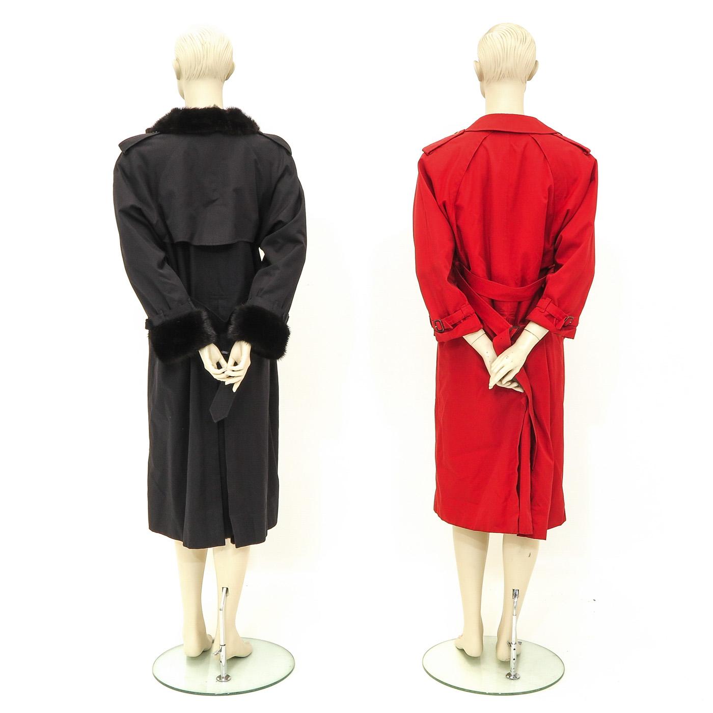 Lot 1143 - Two Designer Coats