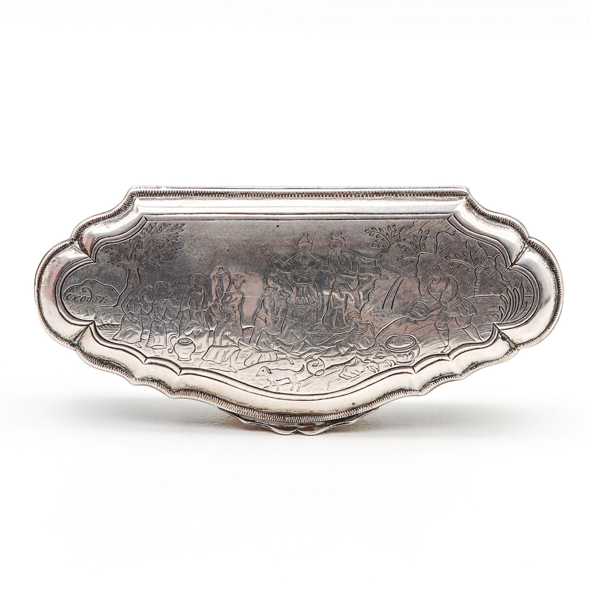 Los 3024 - An Dutch Silver Tobacco Box