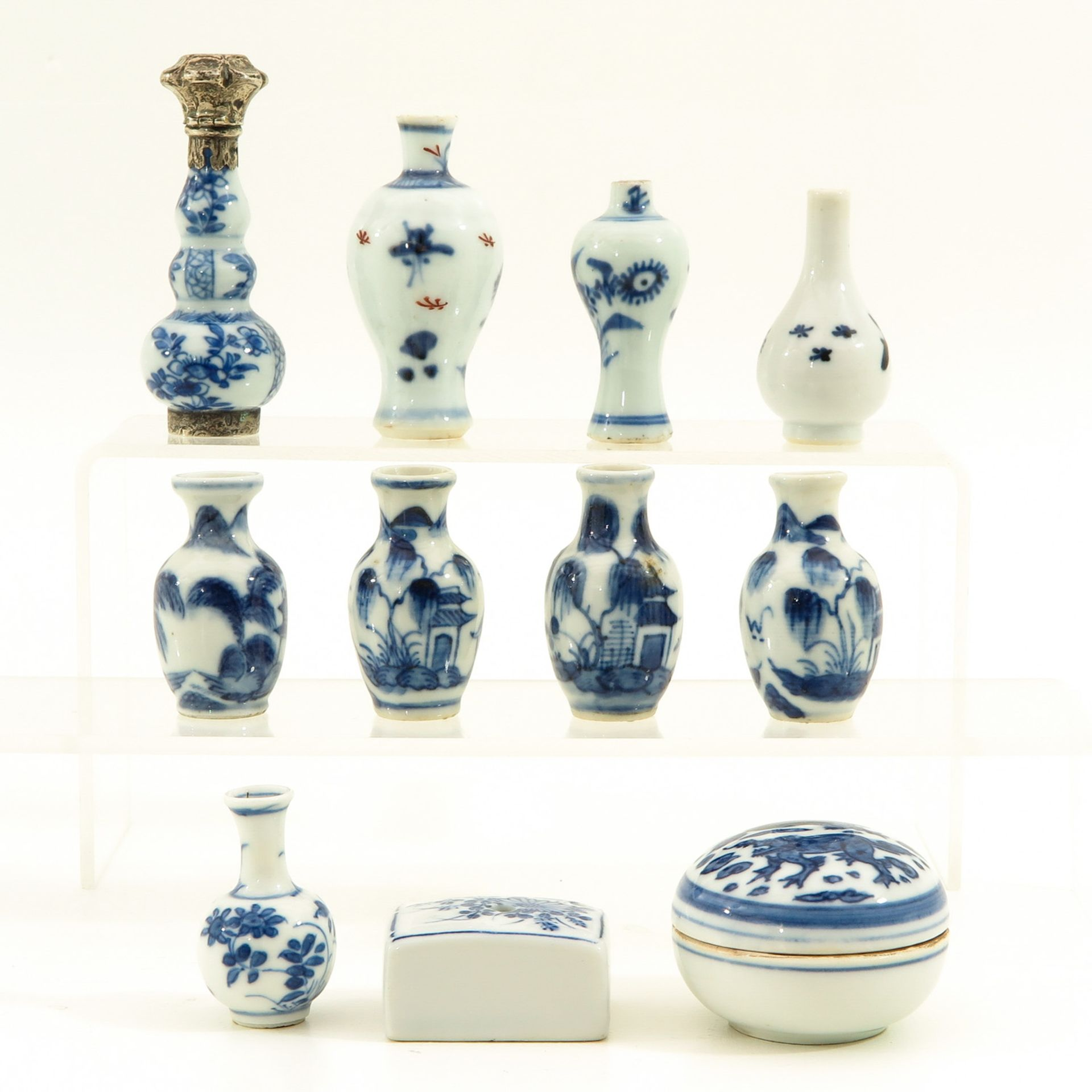 Los 7058 - A Collection of Chinese Miniatures
