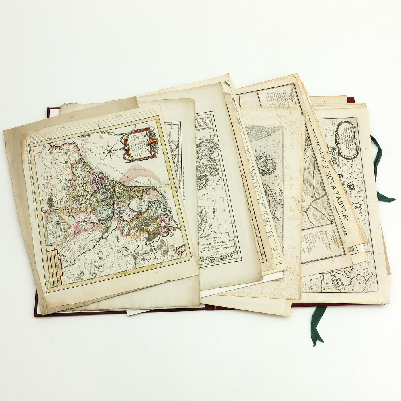 A Collection of Old Prints and Topographic Maps