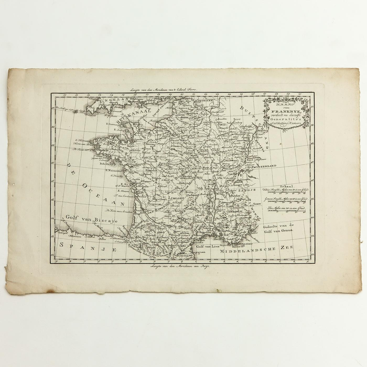 A Collection of Old Prints and Topographic Maps - Image 4 of 5