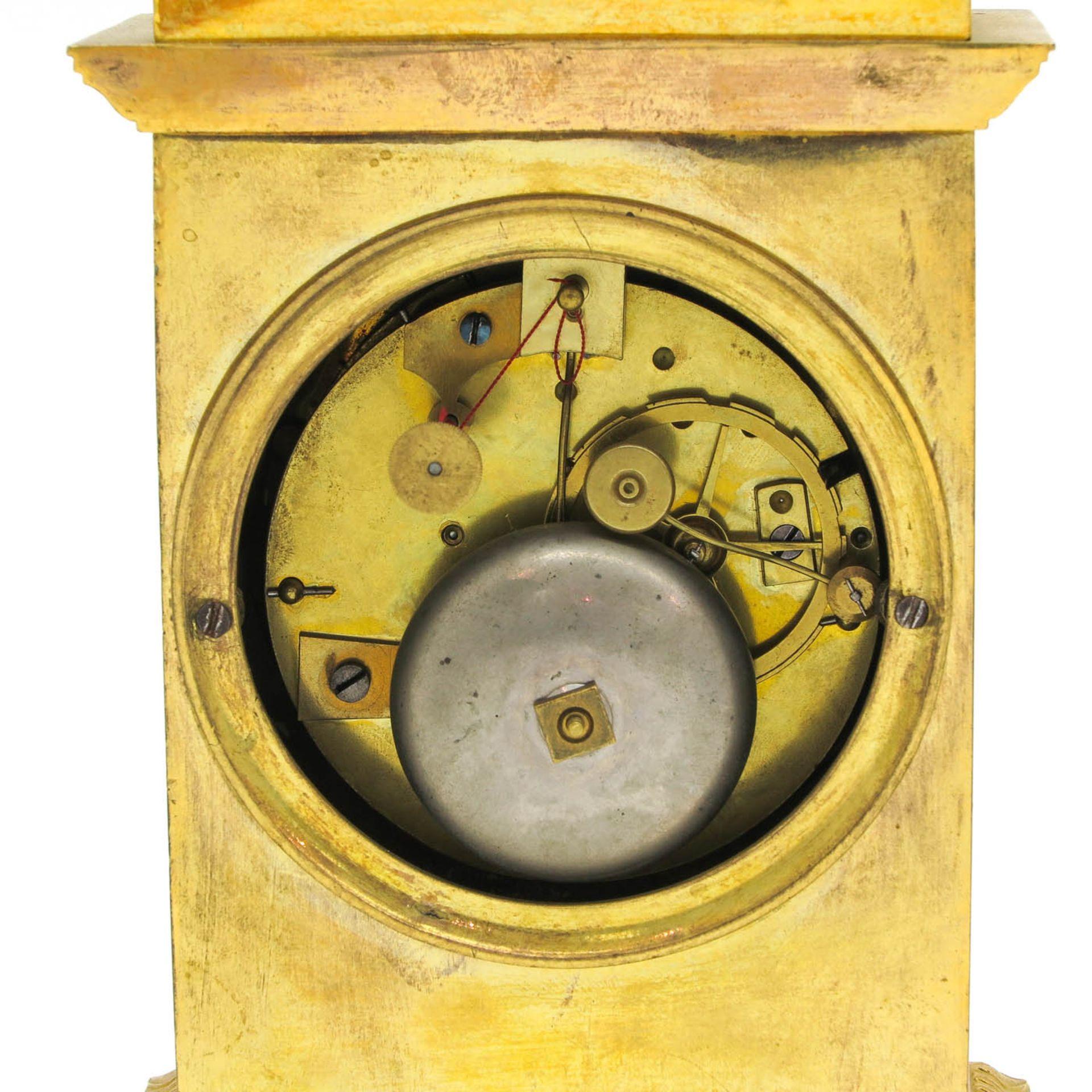 Los 1065 - A Signed Empire Pendulum