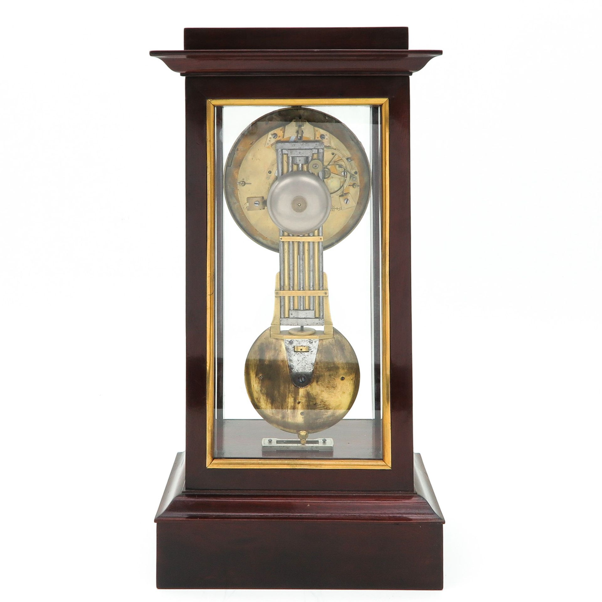 Los 1195 - A Signed French Table Clock Circa 1800