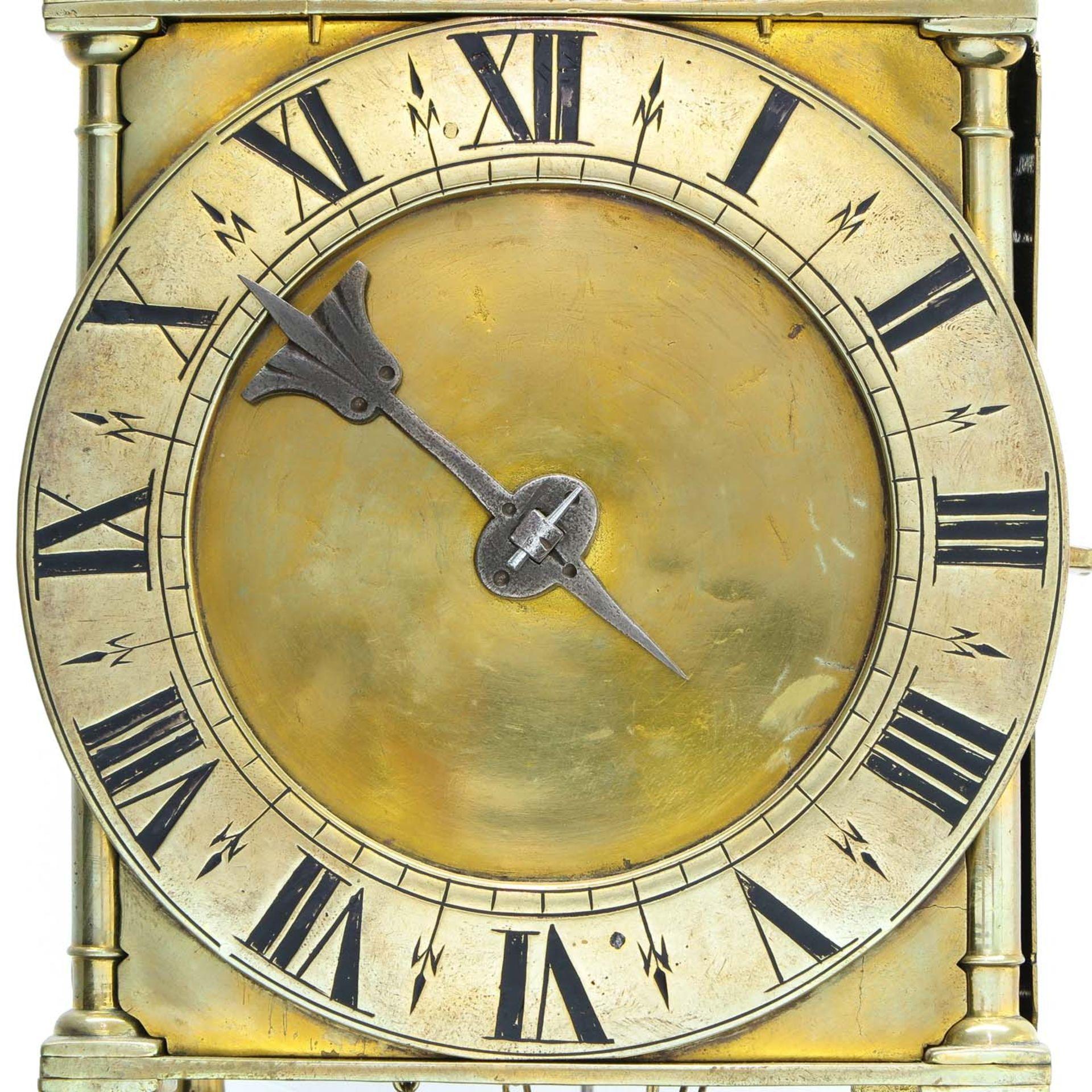 Los 1060 - A French 17th - 18th Century Lantern Clock