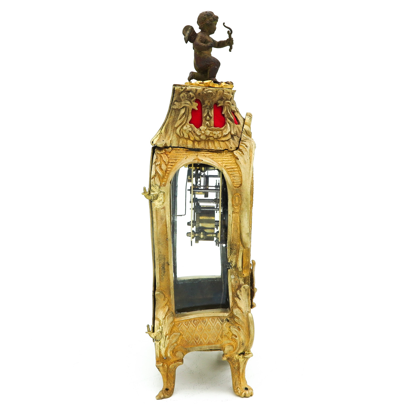 Lot 1165 - An 18th Century Signed French Pendulum