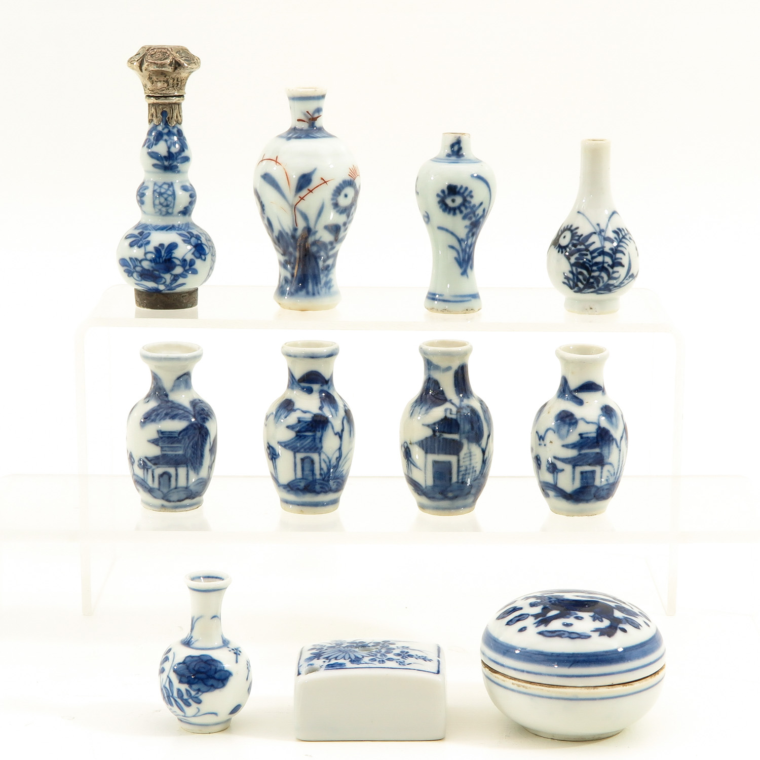 Lot 7058 - A Collection of Chinese Miniatures