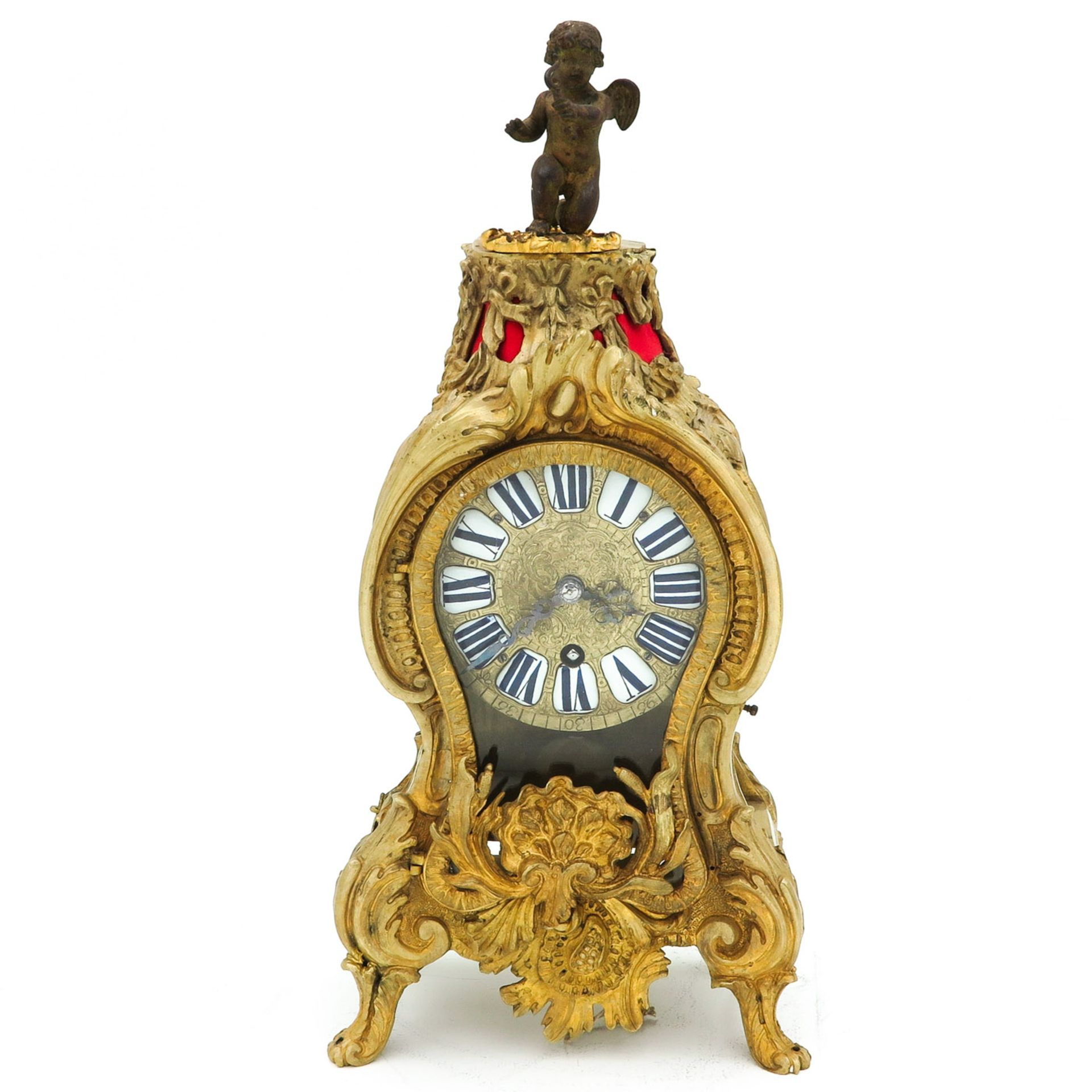 Los 1165 - An 18th Century Signed French Pendulum