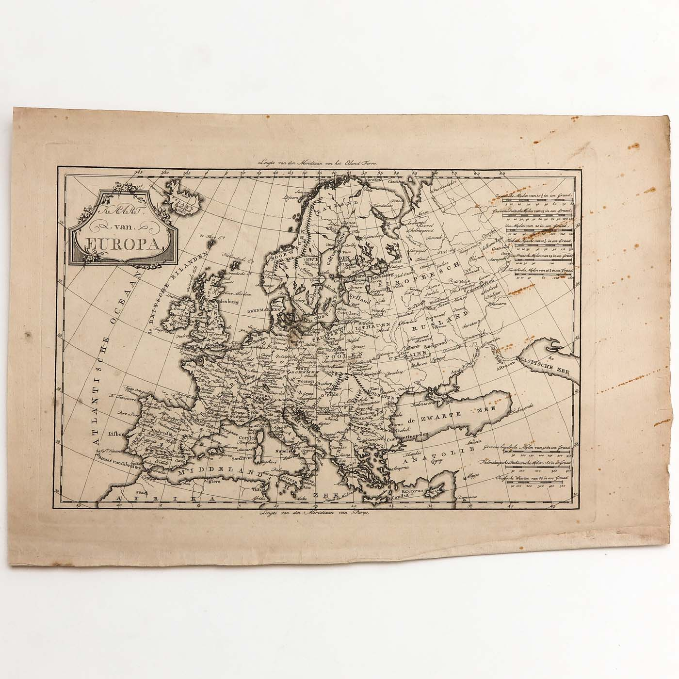 A Collection of Old Prints and Topographic Maps - Image 3 of 5