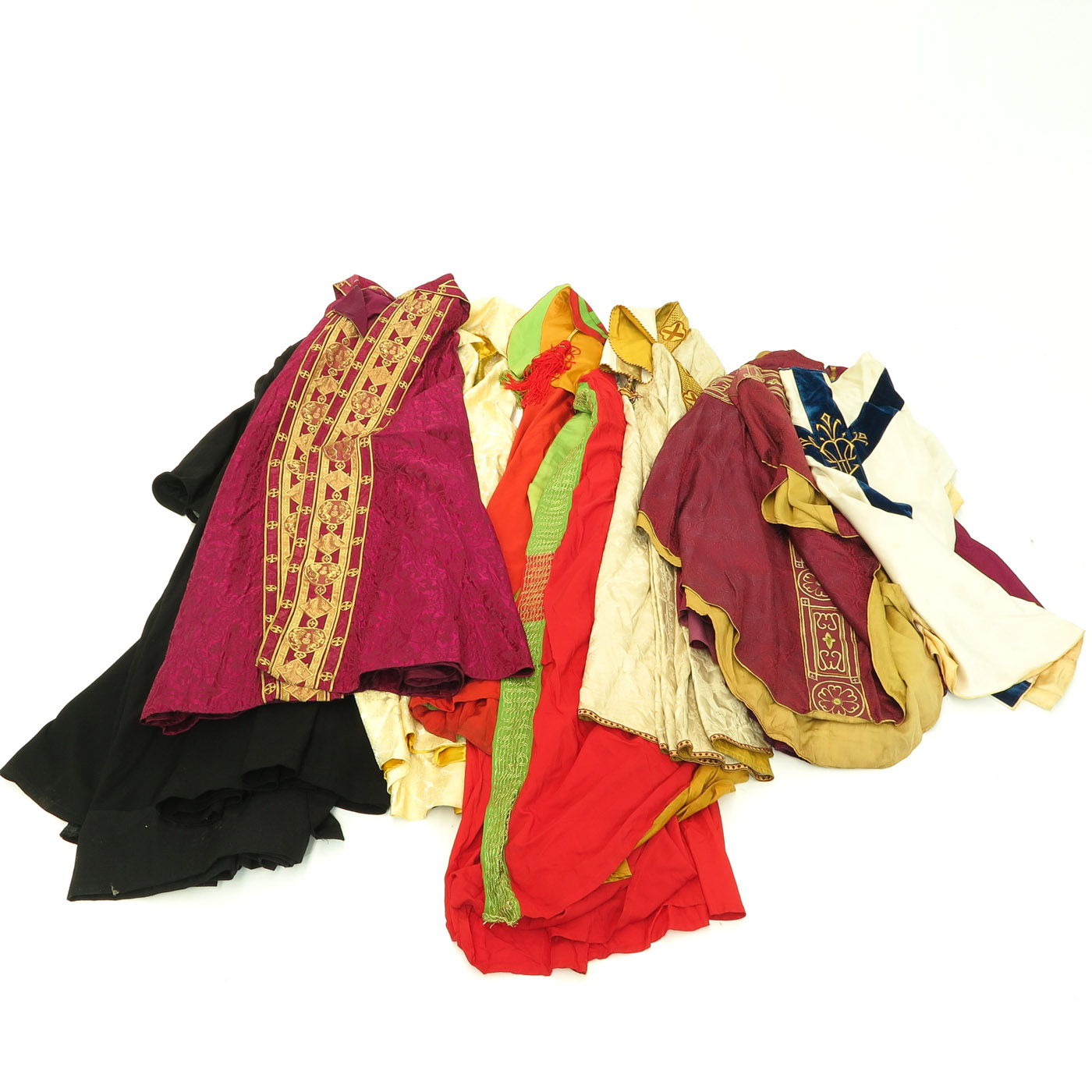 Lot 1449 - A Collection of Religious Clothing