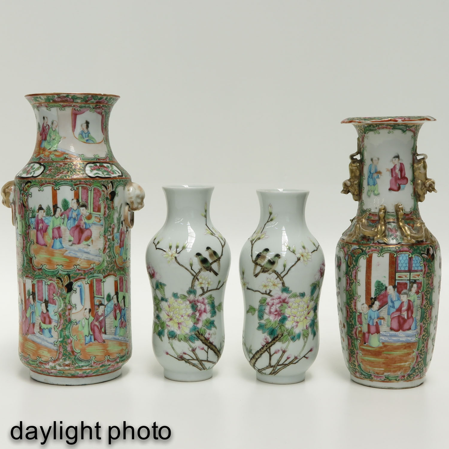 Lot 7028 - A Collection of Four Vases