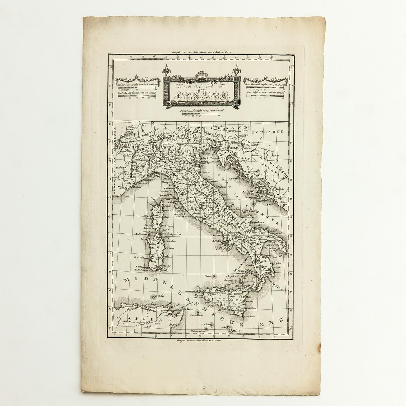 A Collection of Old Prints and Topographic Maps - Image 5 of 5