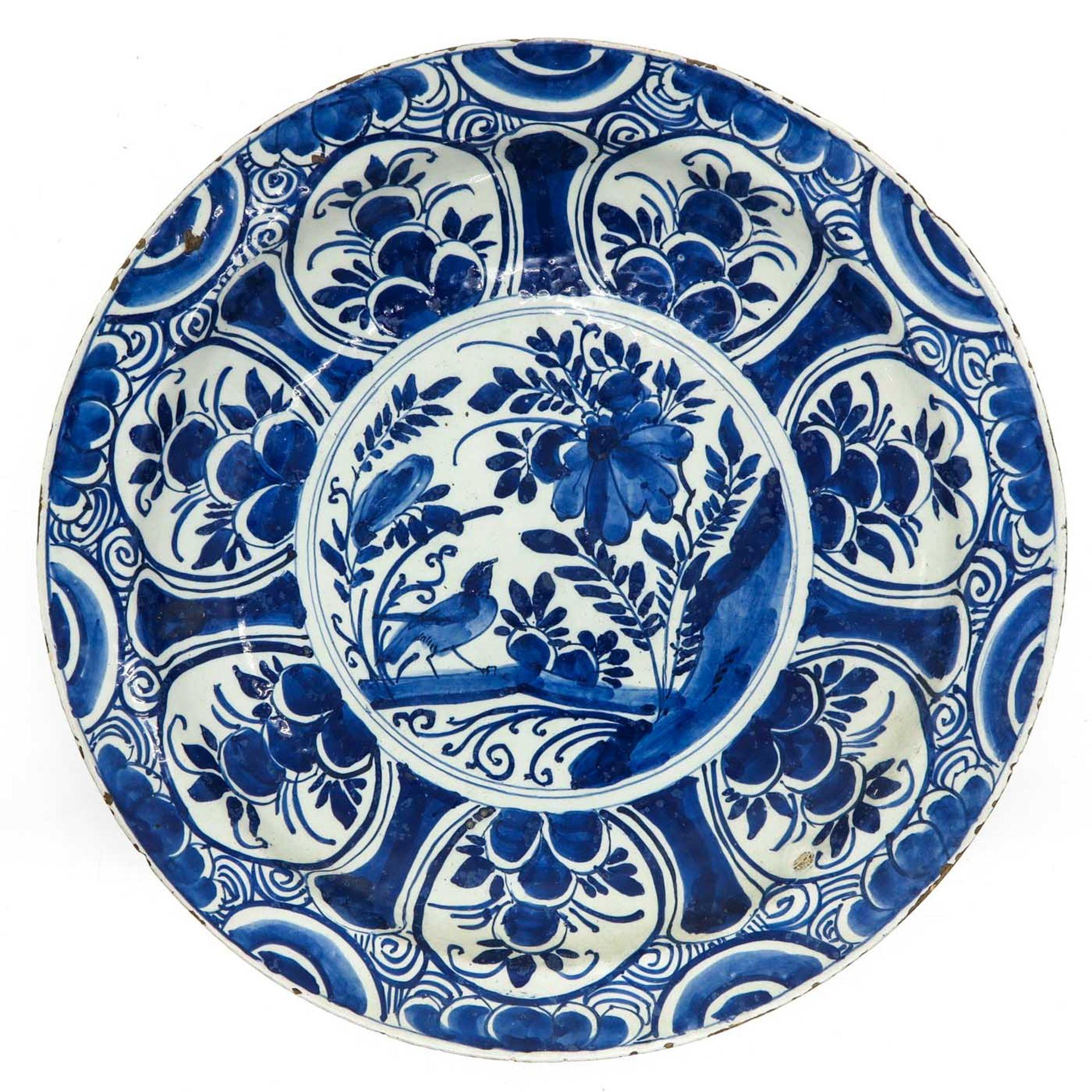 Los 1063 - A 17th Century Delft Plate