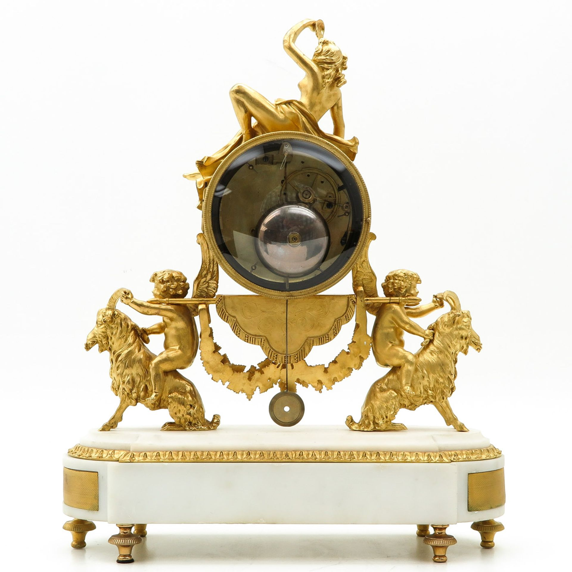 Los 1175 - A Signed 19th Century French Pendulum