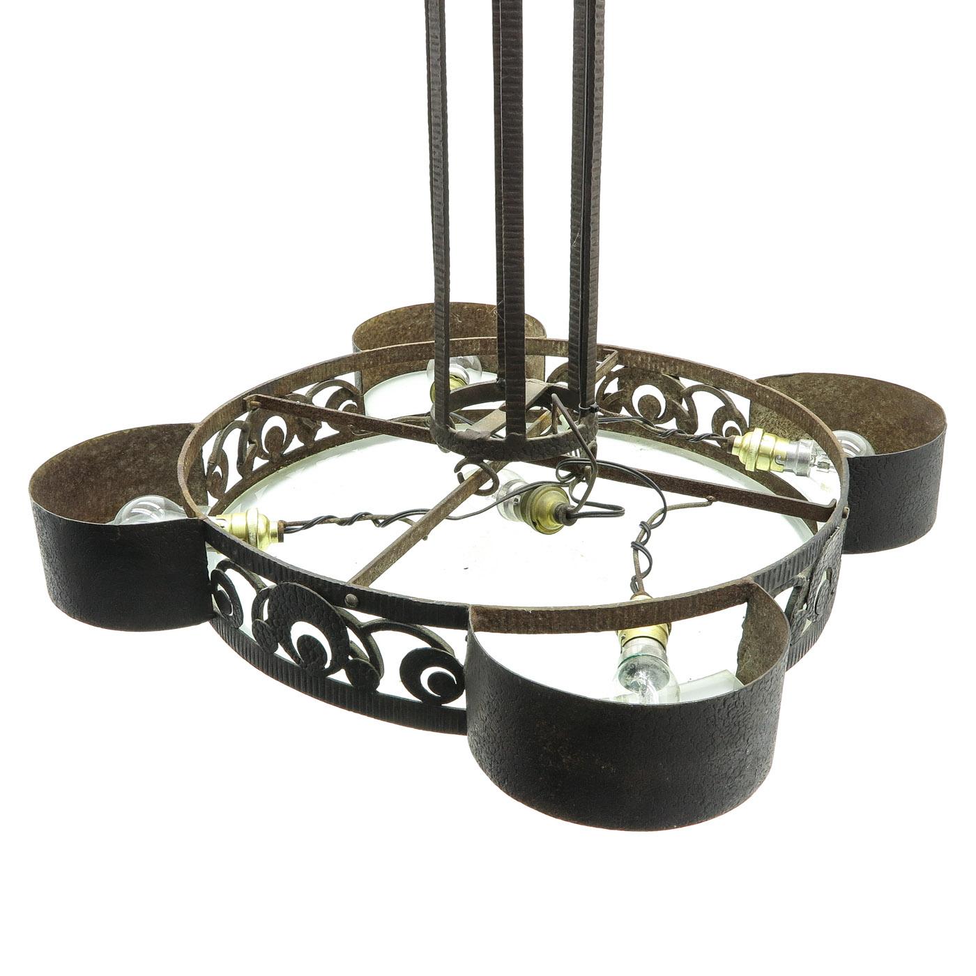 Lot 1048 - An Art Deco Lamp