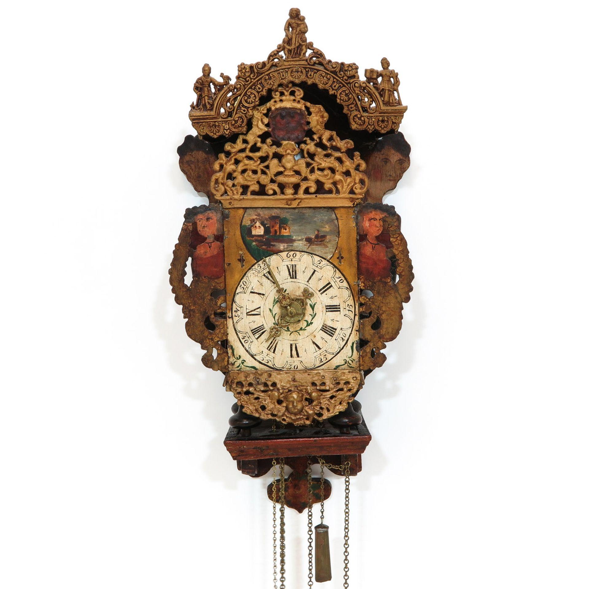 Los 1227 - A 19th Century Friesland Clock