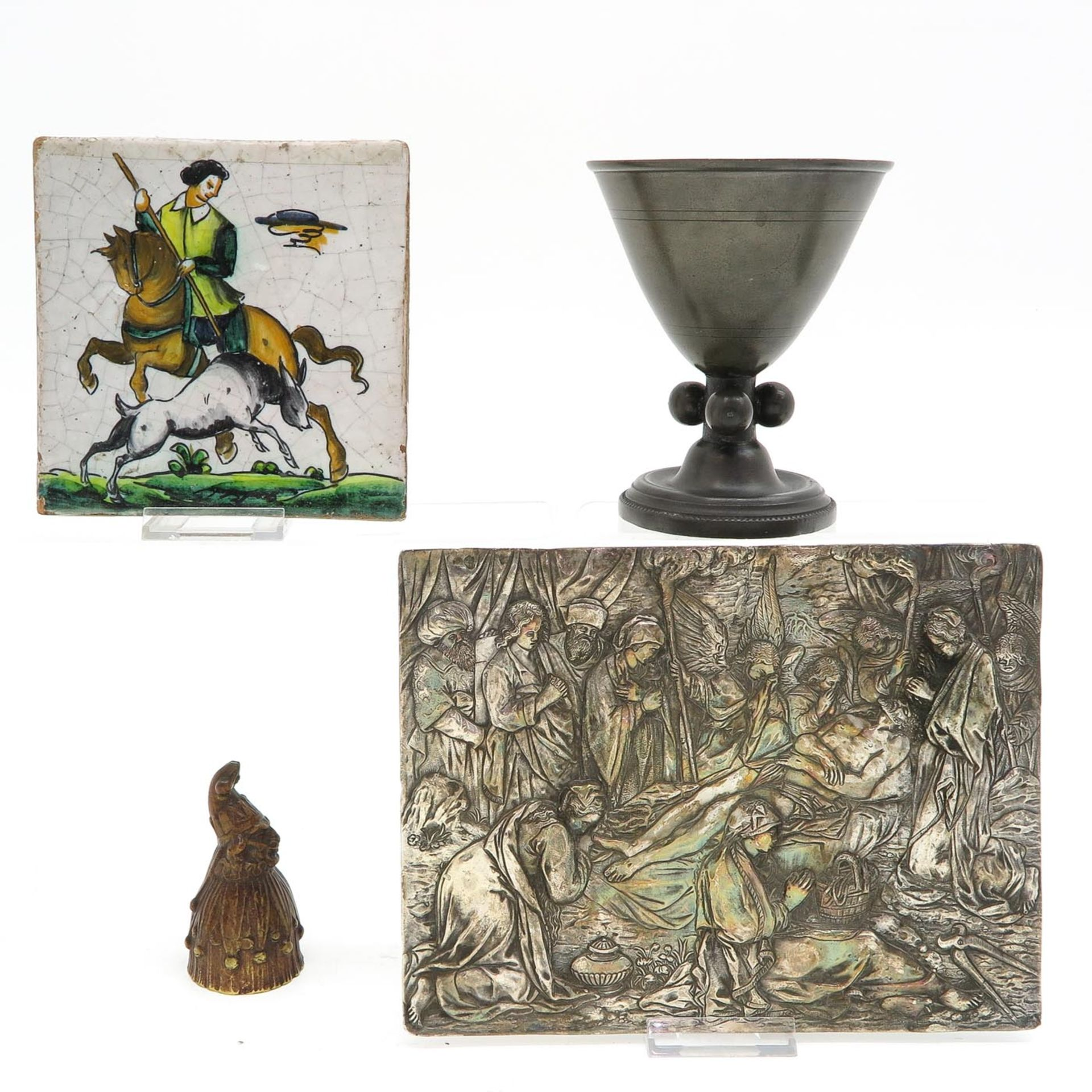 Los 1059 - A Diverse Collection of Collectible Religious Items