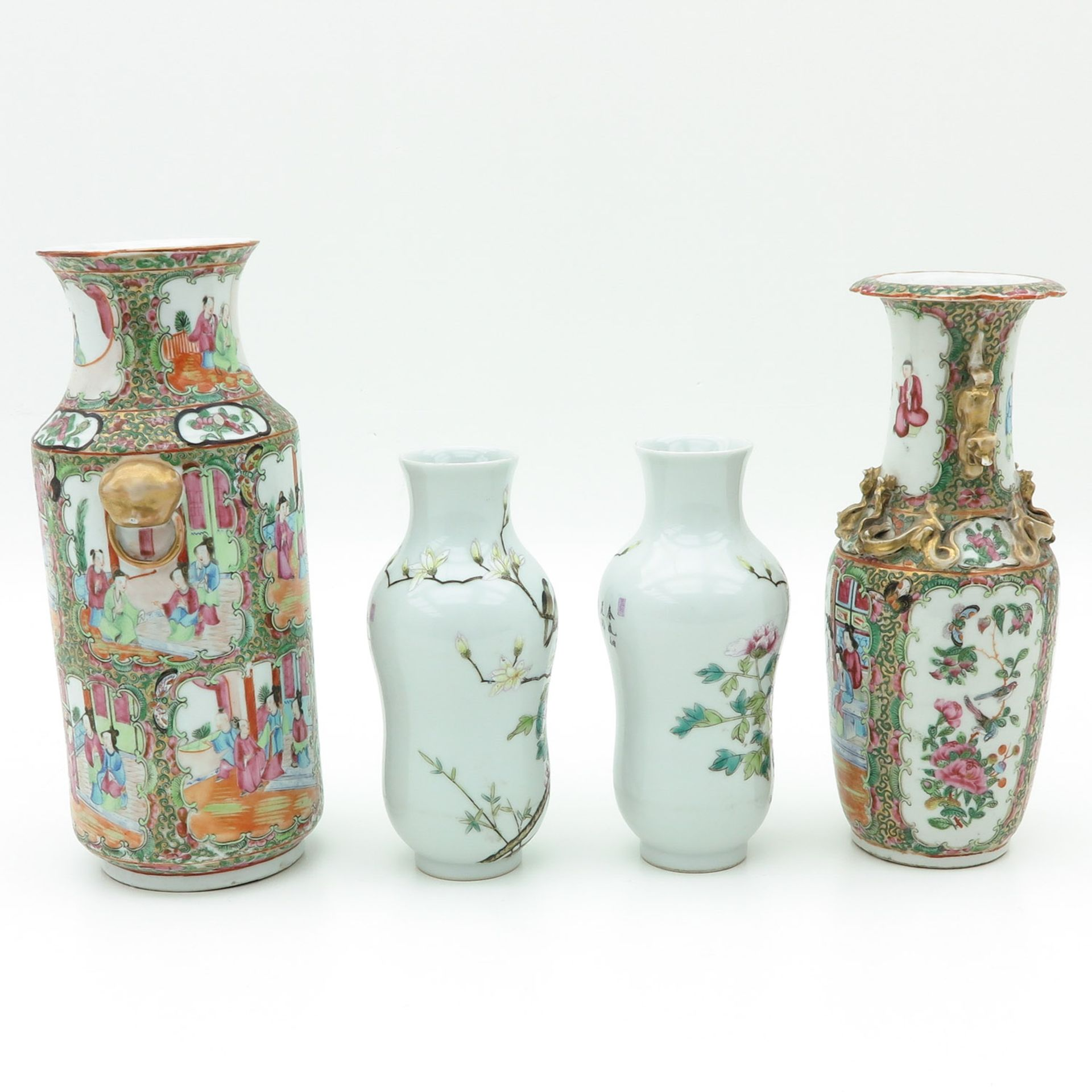 Los 7028 - A Collection of Four Vases