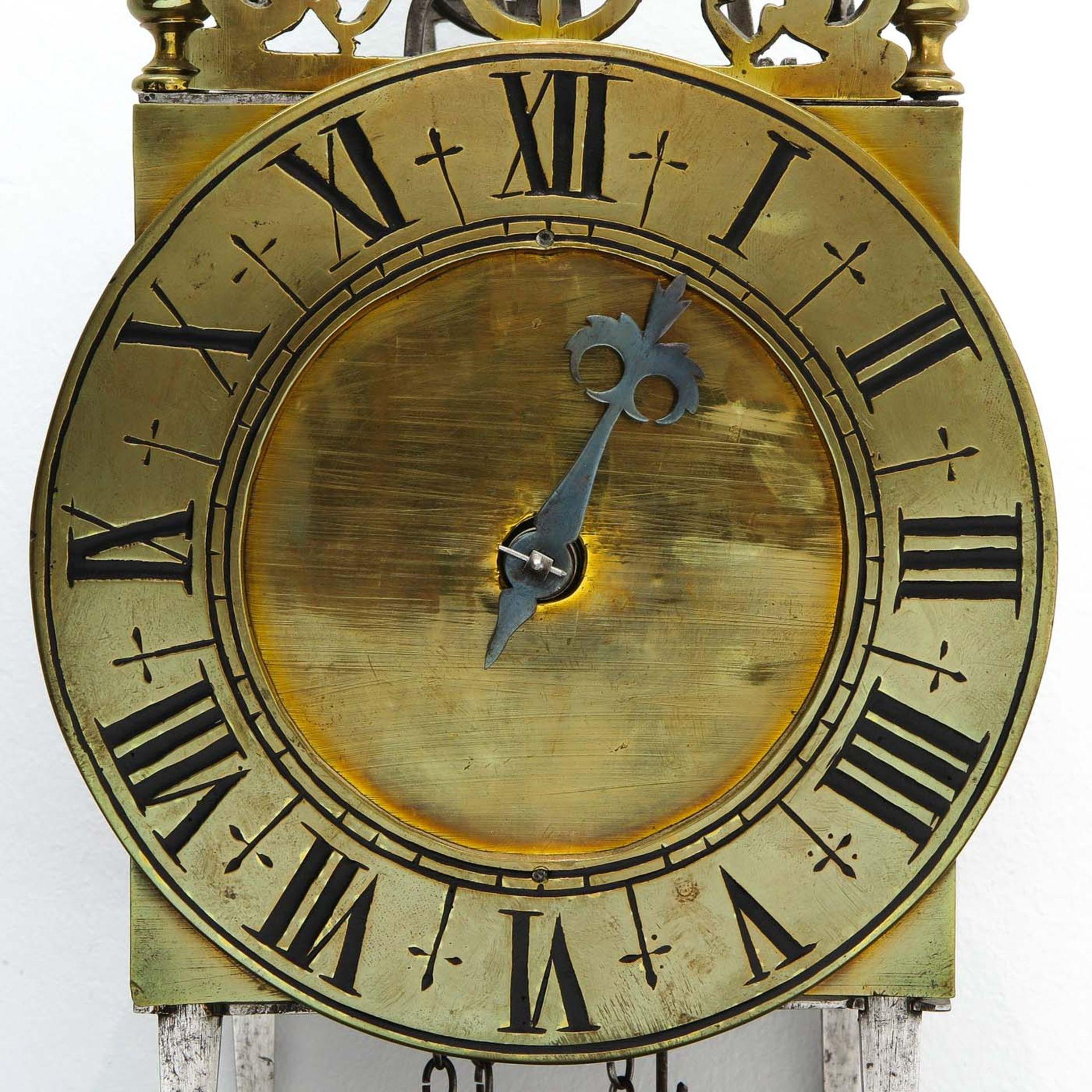 Los 1045 - A 17th - 18th Century French Lantern clock