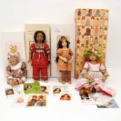 A Collection of 4 Annette Himstedt Dolls