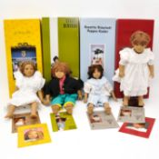 A Collection of Annette Himstedt Dolls