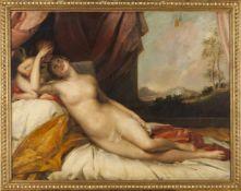 European school, 19th centuryVenus with CupidOil on canvas69x91
