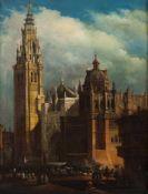 Spanish School, 18th centuryToledo CathedralOil on canvas 83x62 cm