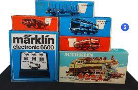 MARKLIN - Allemagne - métal/plastique - HO (Lot de 6)