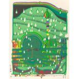Friedensreich Hundertwasser (Wien 1928 – 2000 auf dem Seeweg vor Australien)