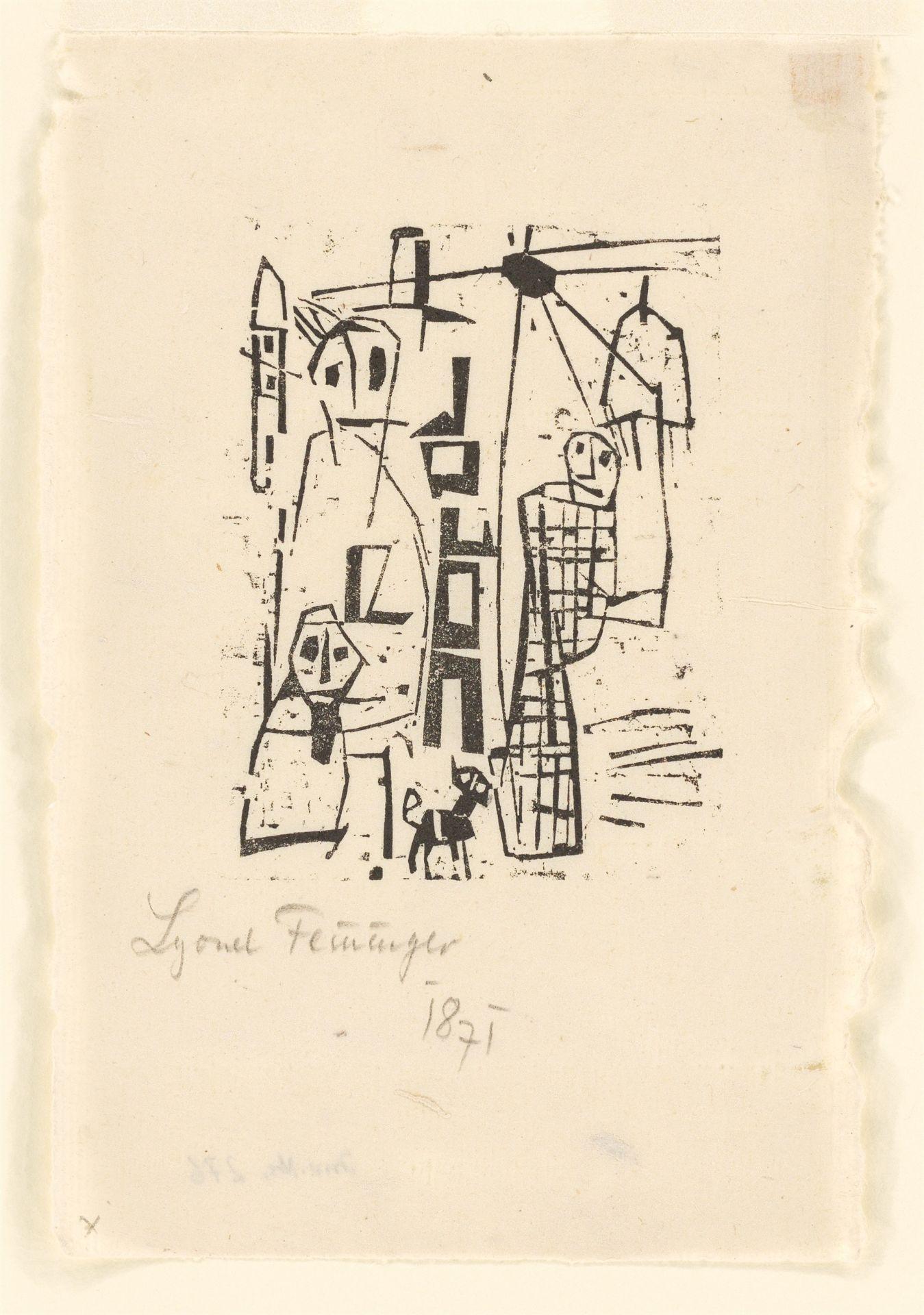 Lyonel Feininger (1871 – New York – 1956) - Bild 2 aus 2
