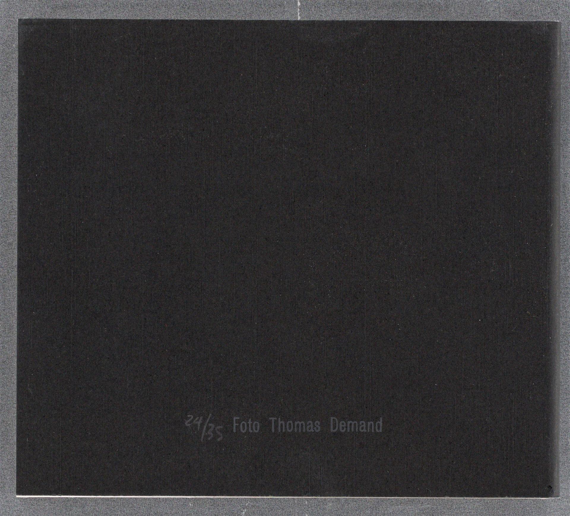 Thomas Demand (München 1964 – lebt in Berlin) - Bild 3 aus 3
