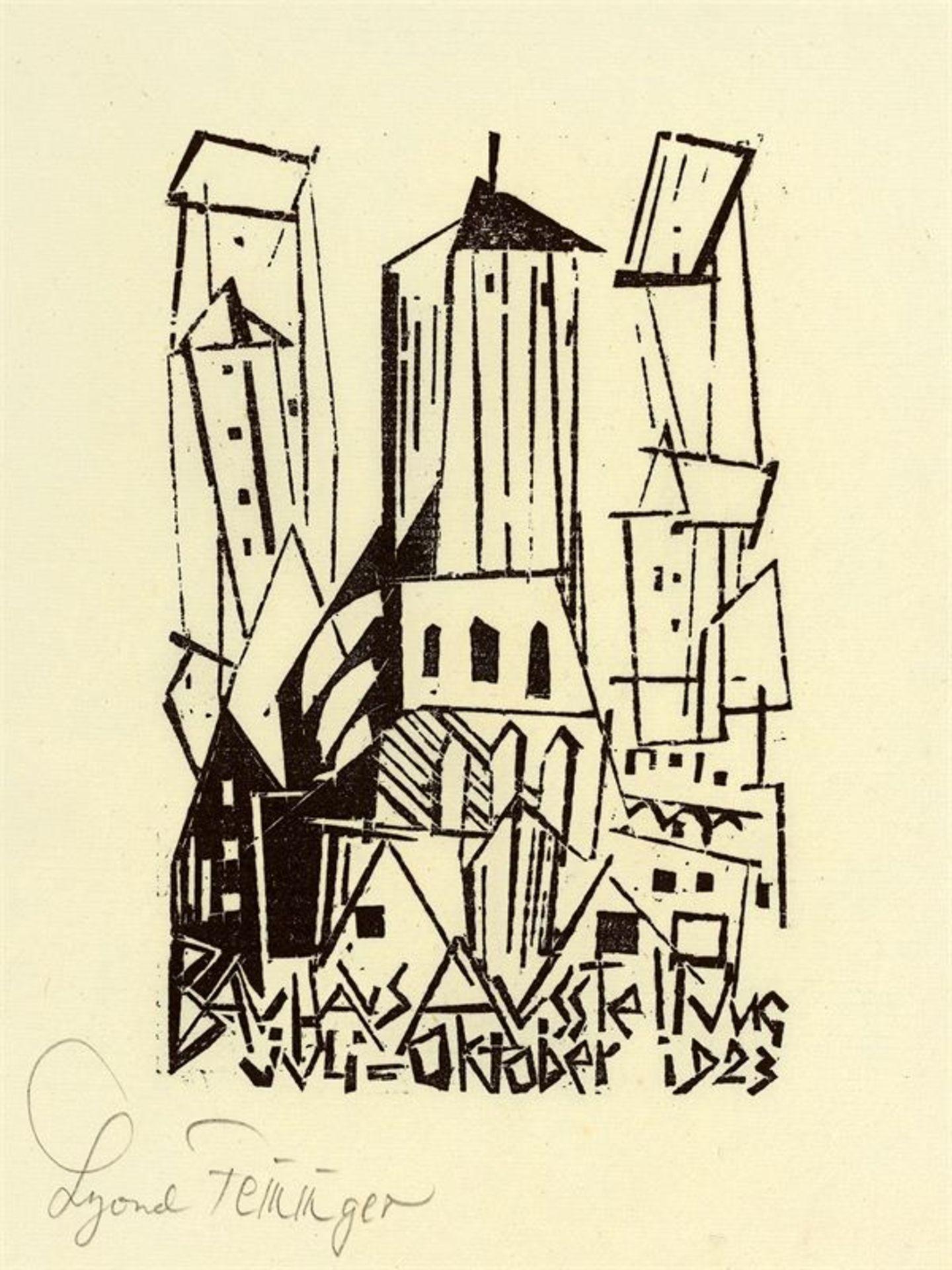 Los 186 - Lyonel Feininger (1871 – New York – 1956)