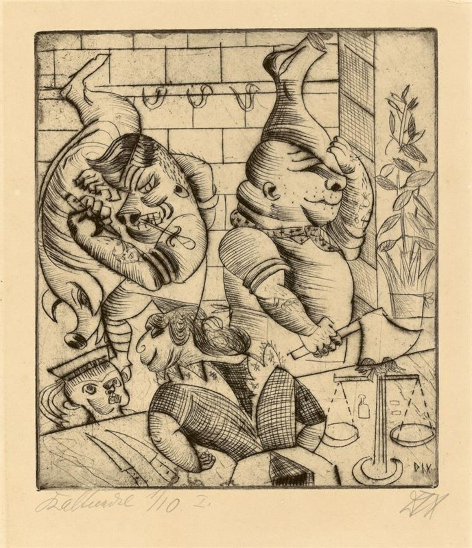 Los 177 - Otto Dix (Gera-Untermhaus 1891 – 1969 Singen)