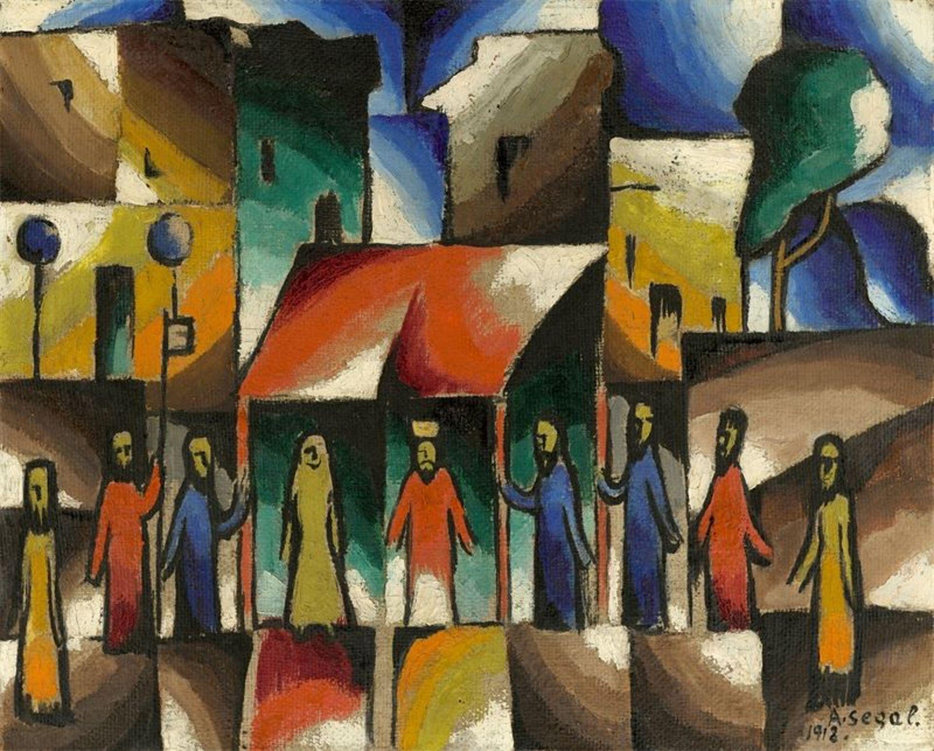 Los 203 - Arthur Segal (Jassy 1875 – 1944 London)