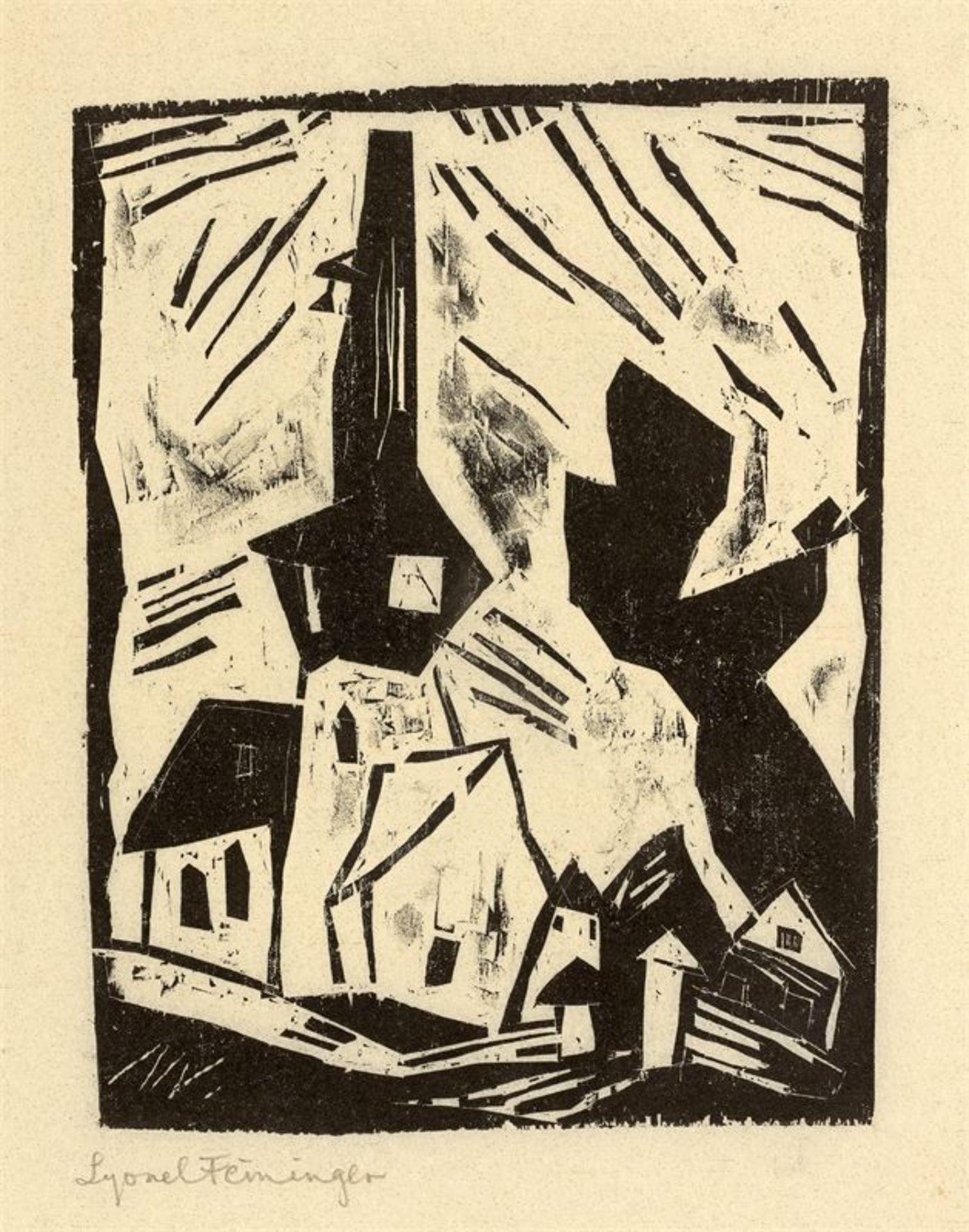 Los 188 - Lyonel Feininger (1871 – New York – 1956)
