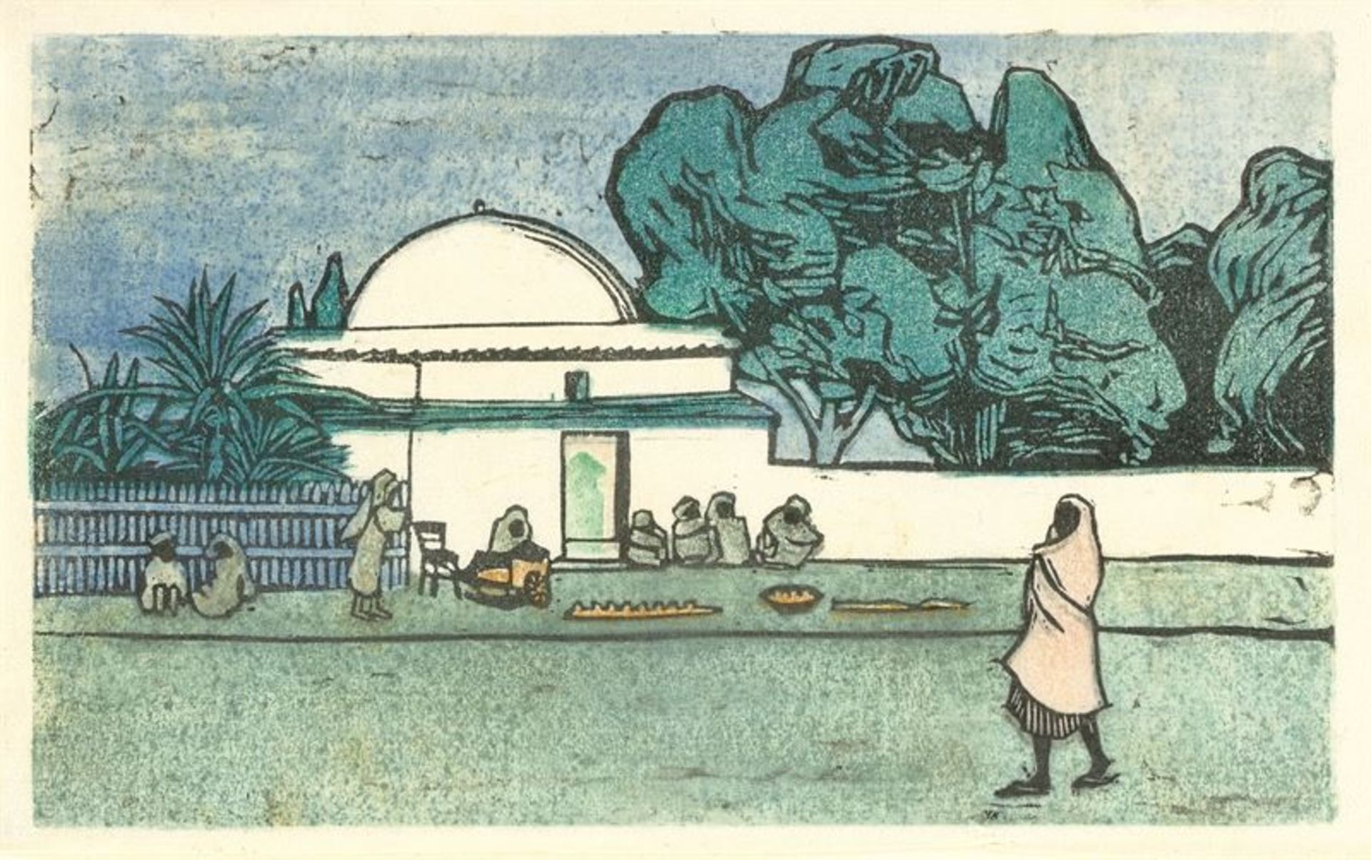 Los 132 - Gabriele Münter (Berlin 1877 – 1962 Murnau)