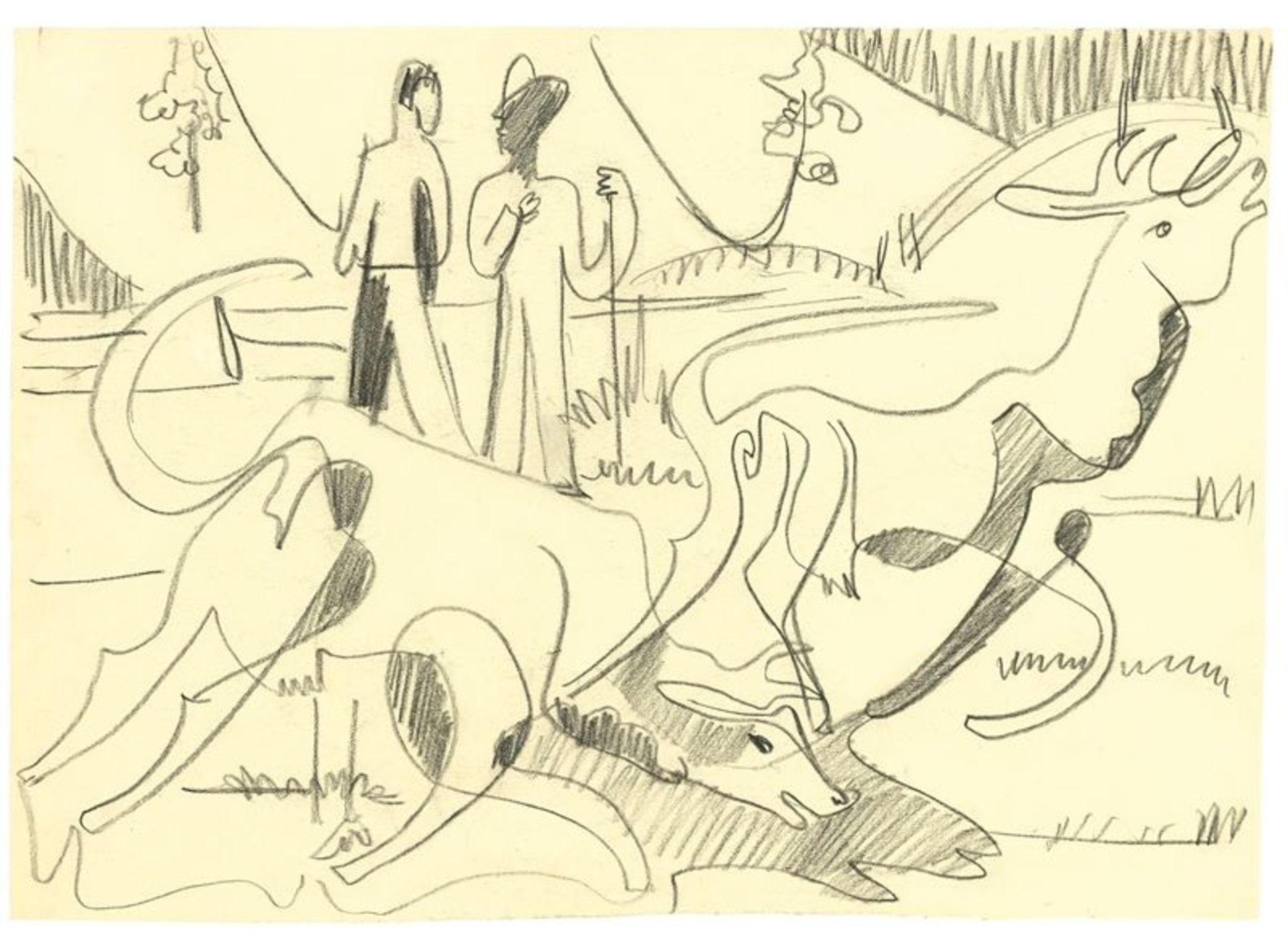 Los 144 - Ernst Ludwig Kirchner (Aschaffenburg 1880 – 1938 Davos)