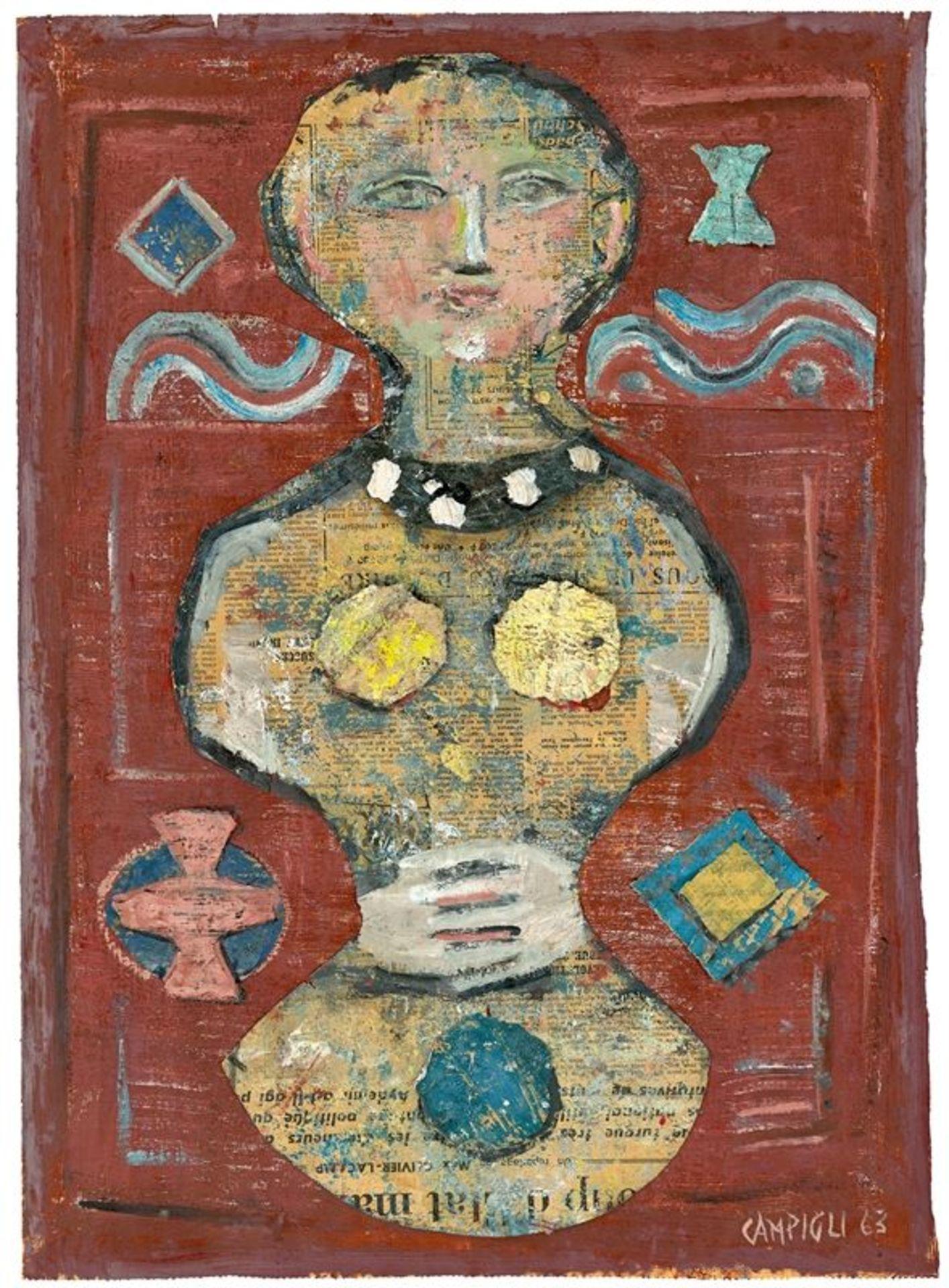 Massimo Campigli (Florenz 1895 – 1971 St. Tropez)