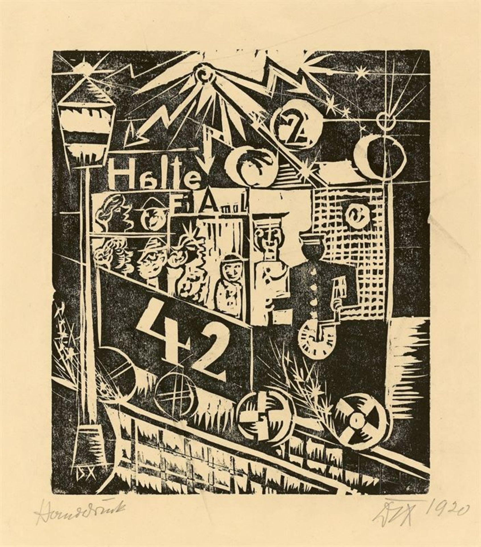 Los 176 - Otto Dix (Gera-Untermhaus 1891 – 1969 Singen)