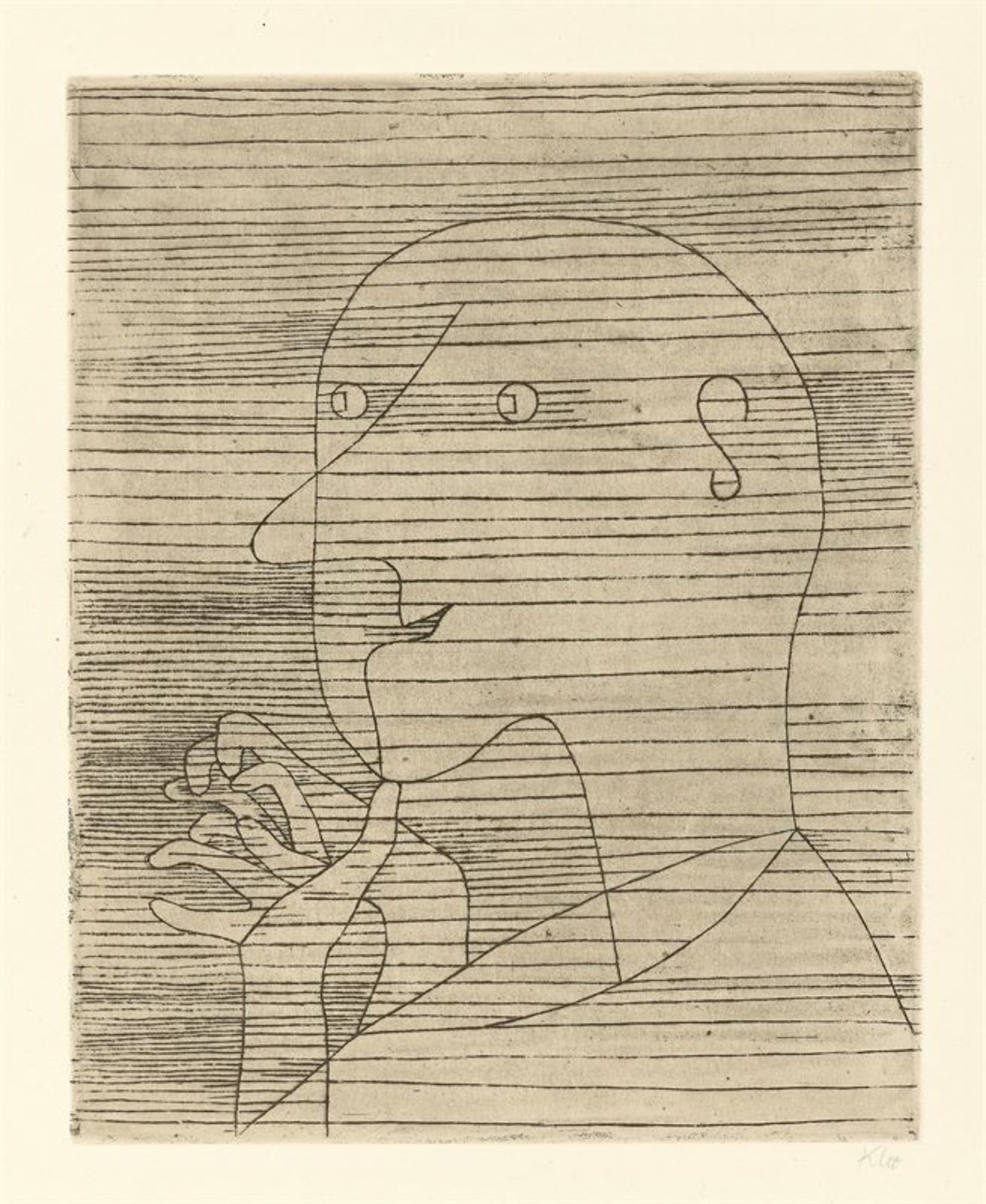 Los 197 - Paul Klee (Münchenbuchsee 1879 – 1940 Muralto bei Locarno)